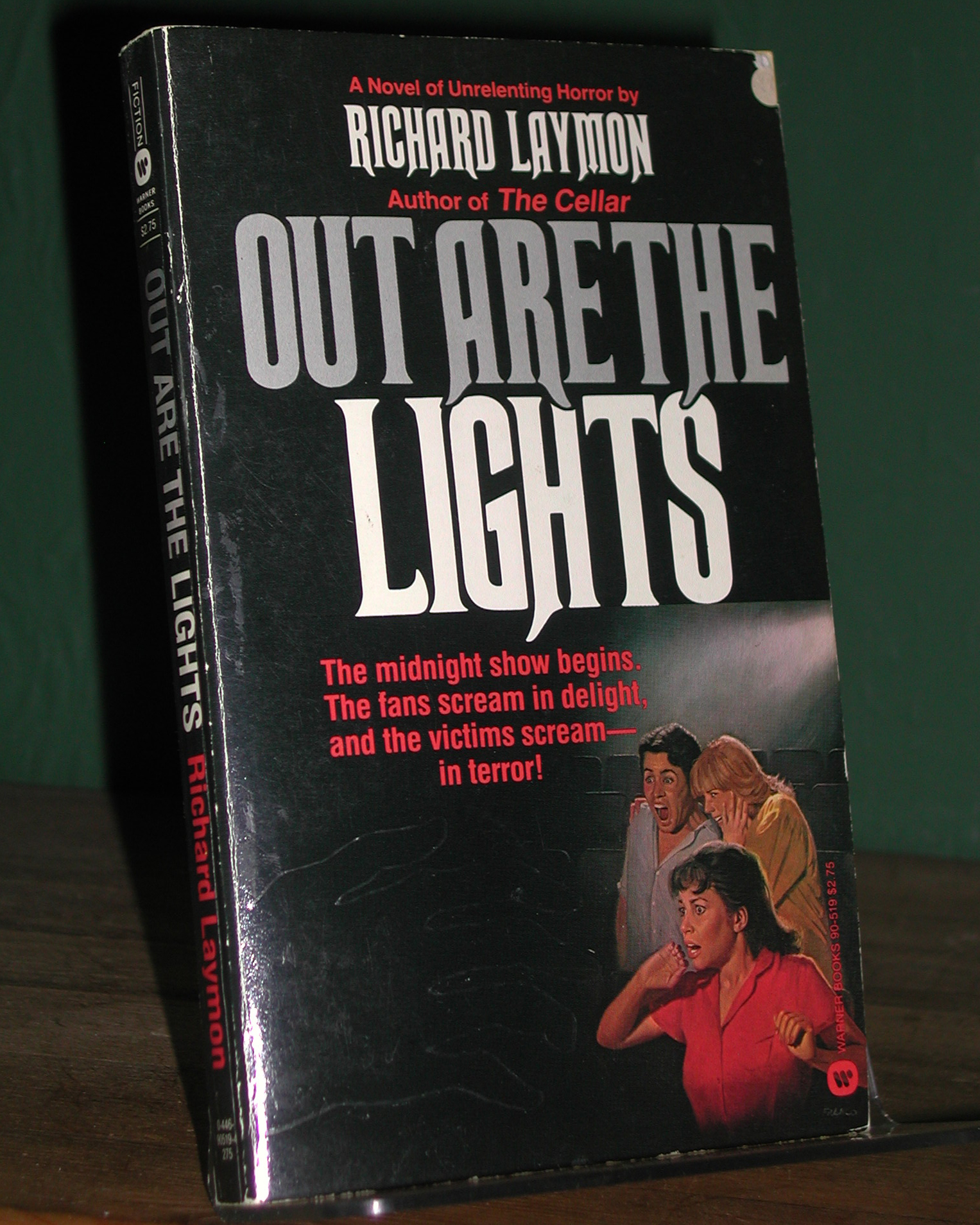 Out Are The Lights US 1st PB
