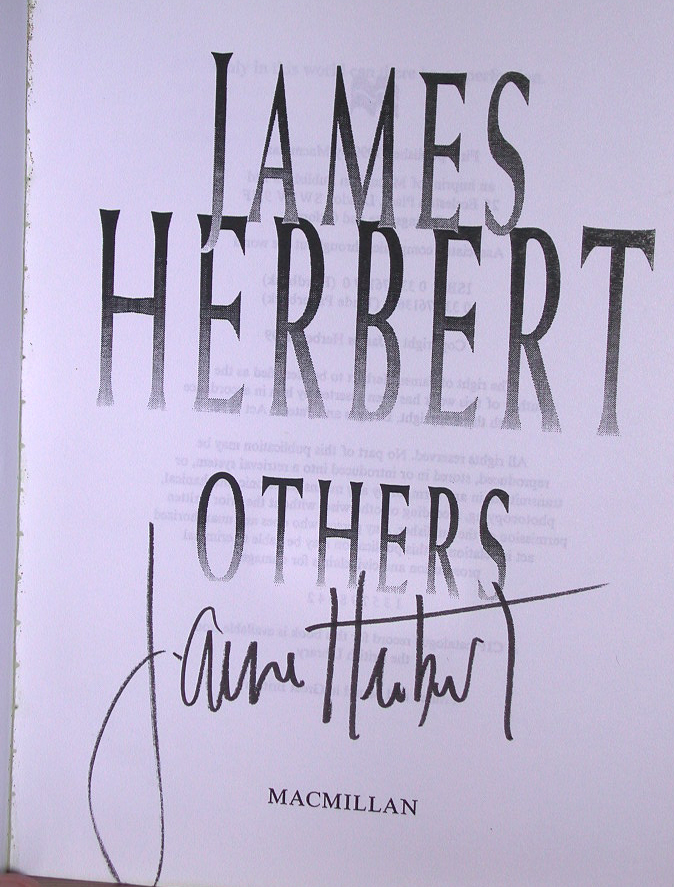 Others Signed UK Proof