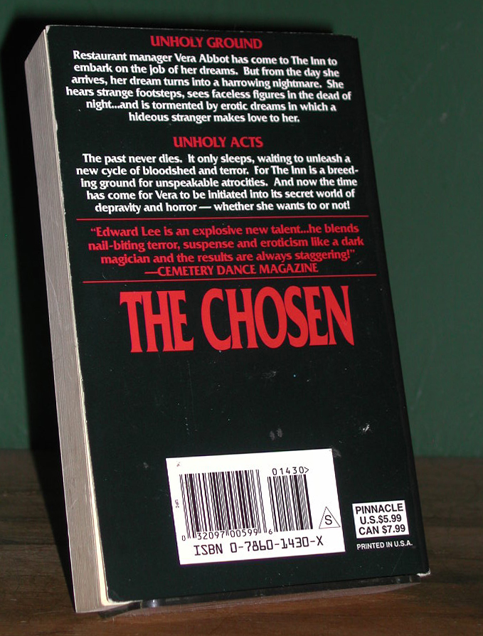 The Chosen Signed US Paperback