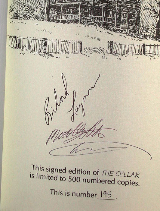 The Cellar Signed Limited Edition