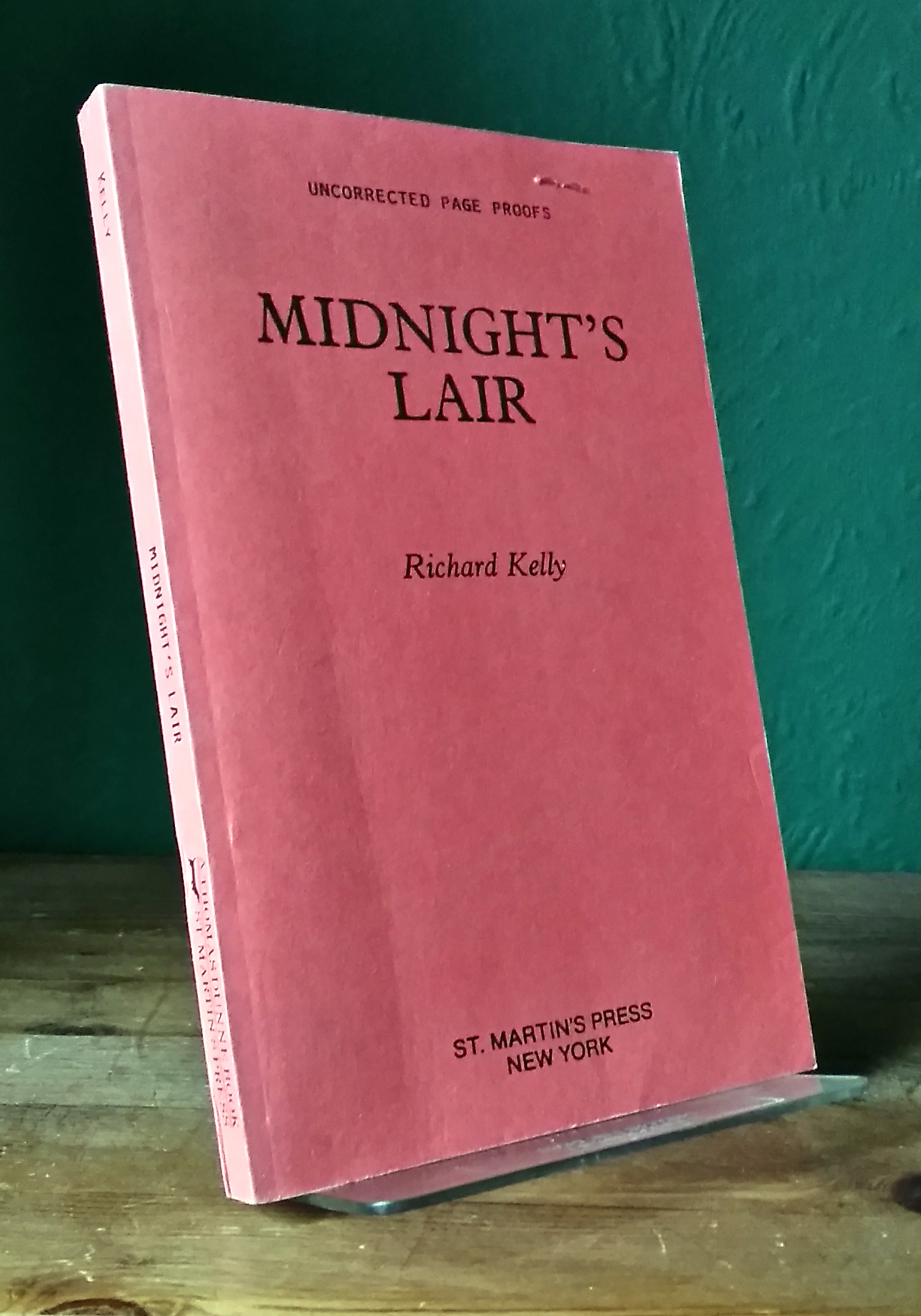 Midnight's Lair US Proof