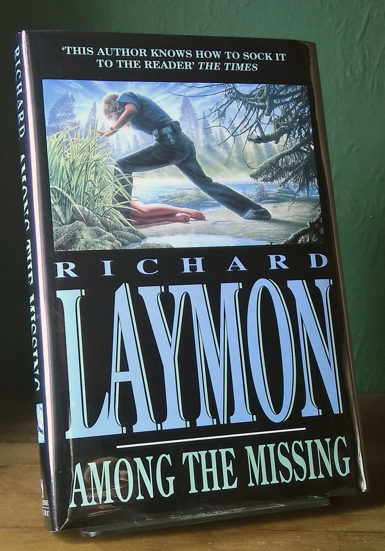 Among The Missing Signed UK 1st Edition
