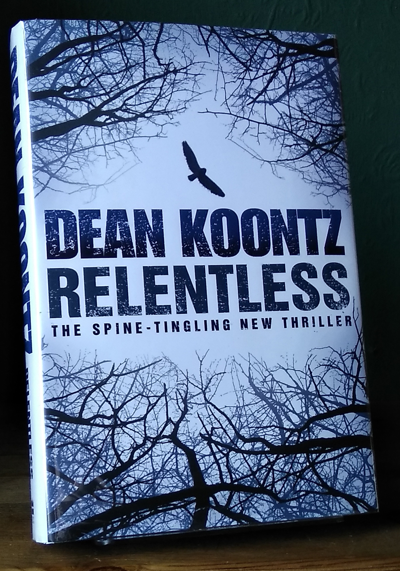 Relentless UK 1st Edition