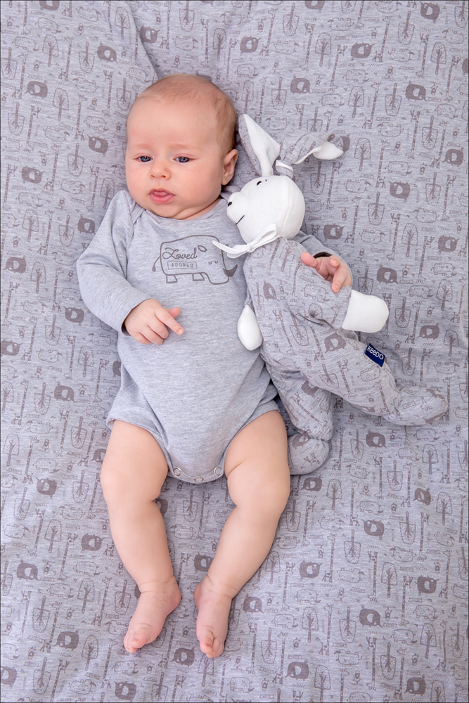 Rhino Bodysuit (Grey)