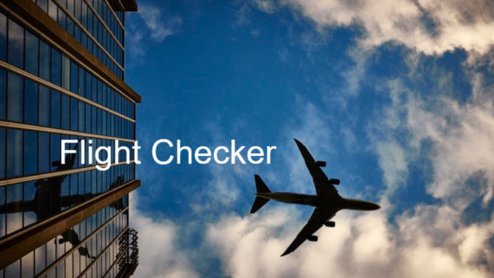 Airport Transfers Flight Checker