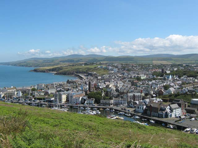 Peel Town, Isle of Man