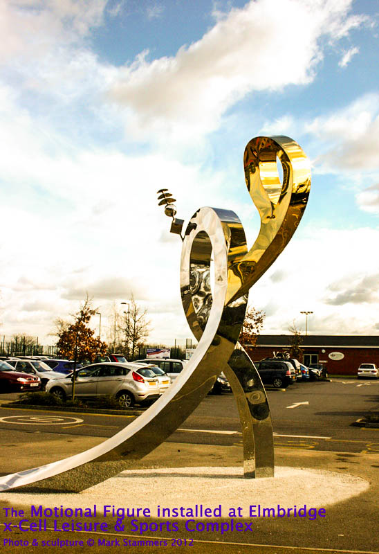 The Motional Figure, public art, mark stammers,