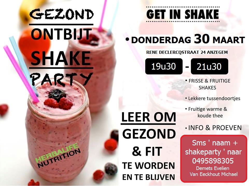 Shakeparty, herbalife