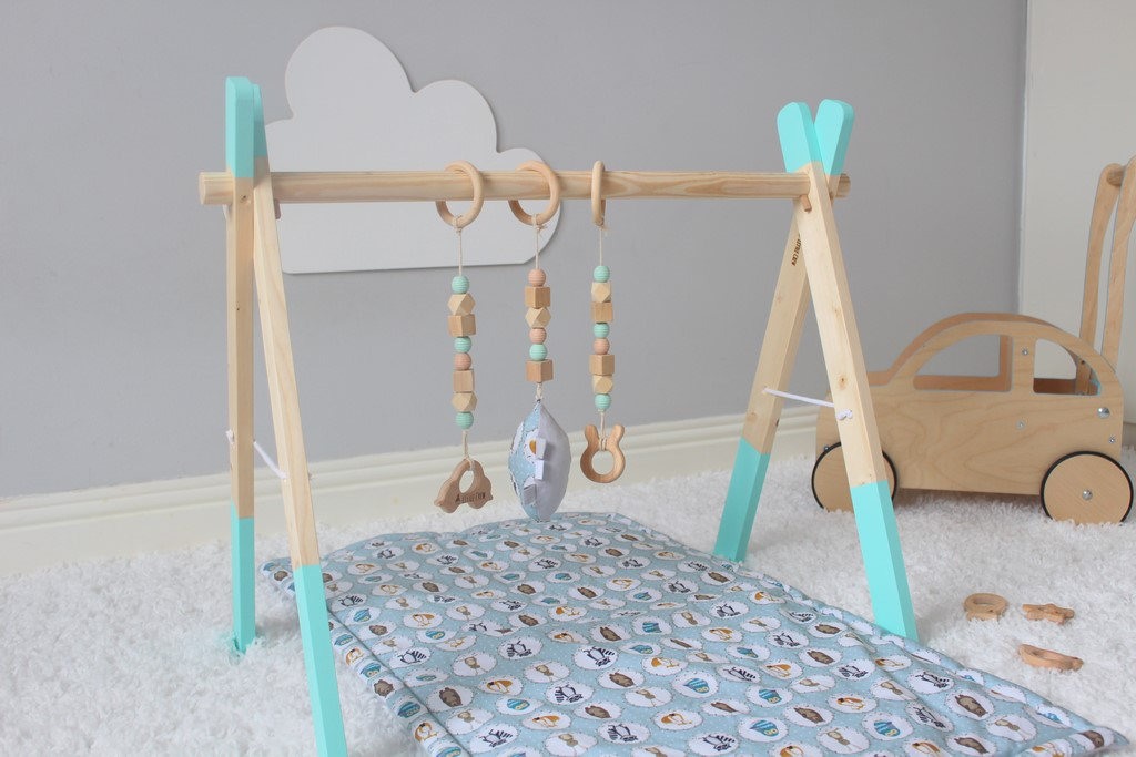Baby Play Gym - Mint Frame