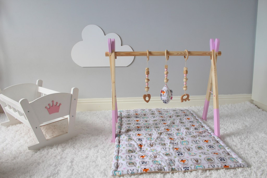 Baby Play Gym - Pink Frame