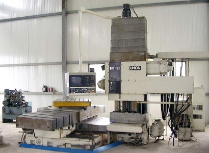 Used Union BFT105/1 Horizontal Boring Machine