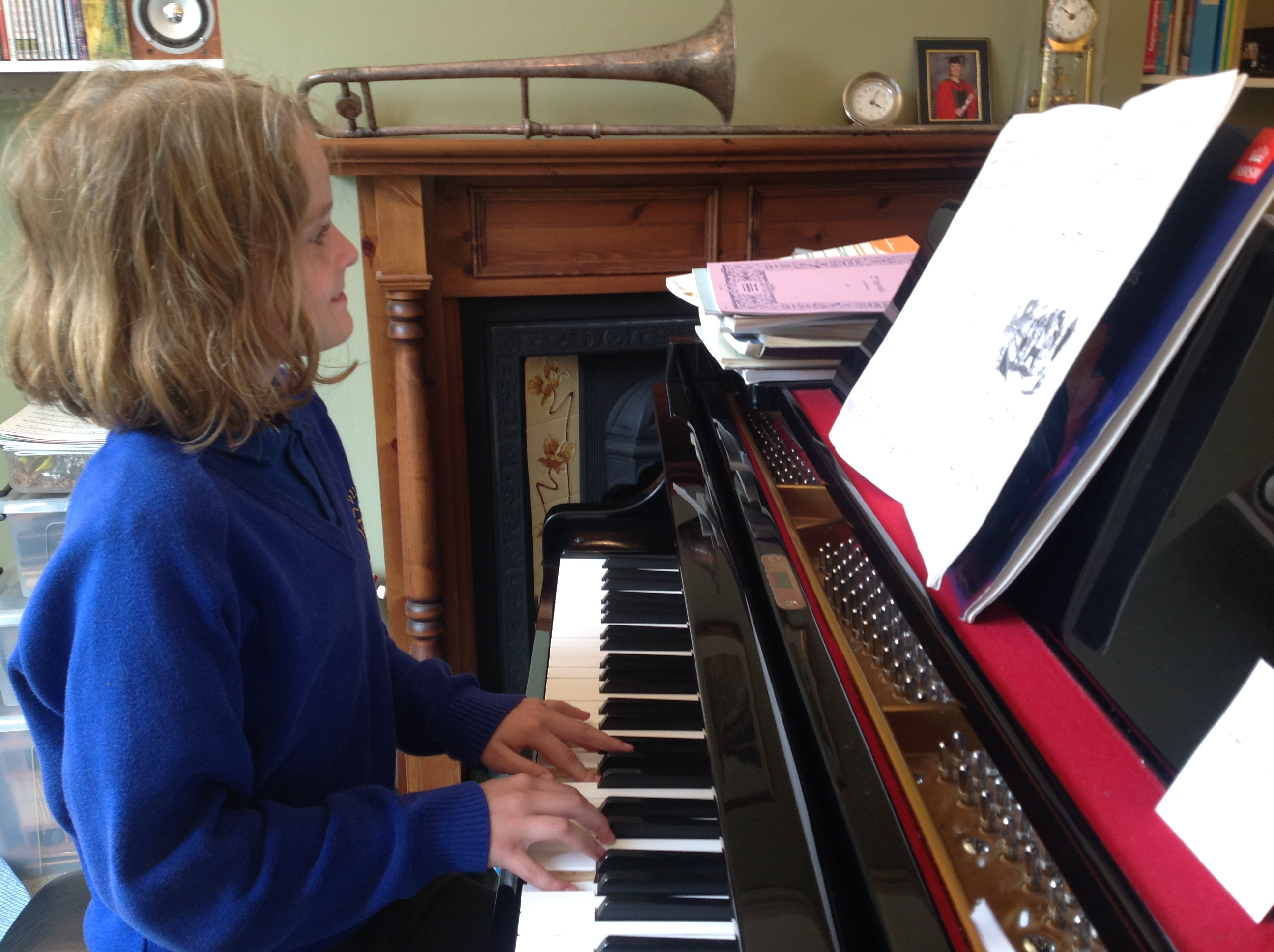 Private piano tuition