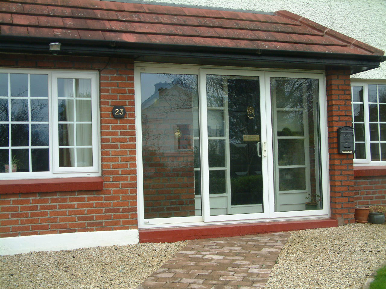 New Inline Secure Sliding Pvcu Doors For Porch Or Patio