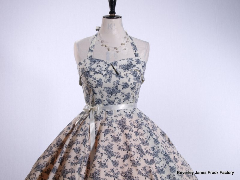 China Summer Rose Dress Dress