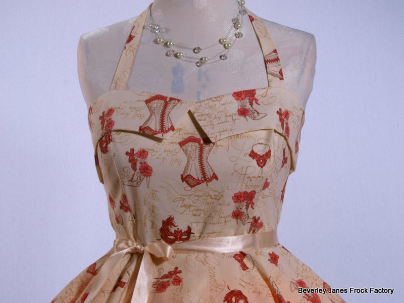 Vintage Corset Dress