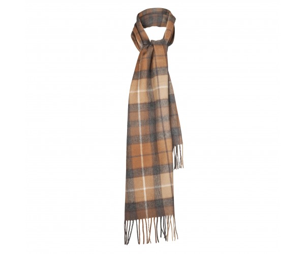 Natural Buchanan 100% Cashmere Scarf by Lona