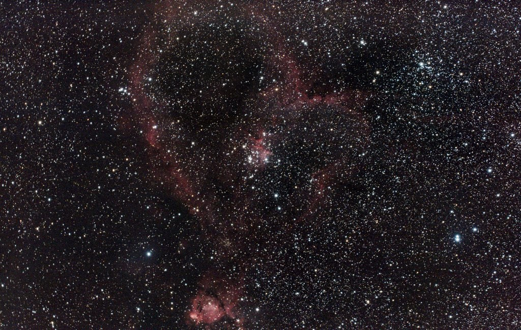 IC 1805, The Heart Nebula