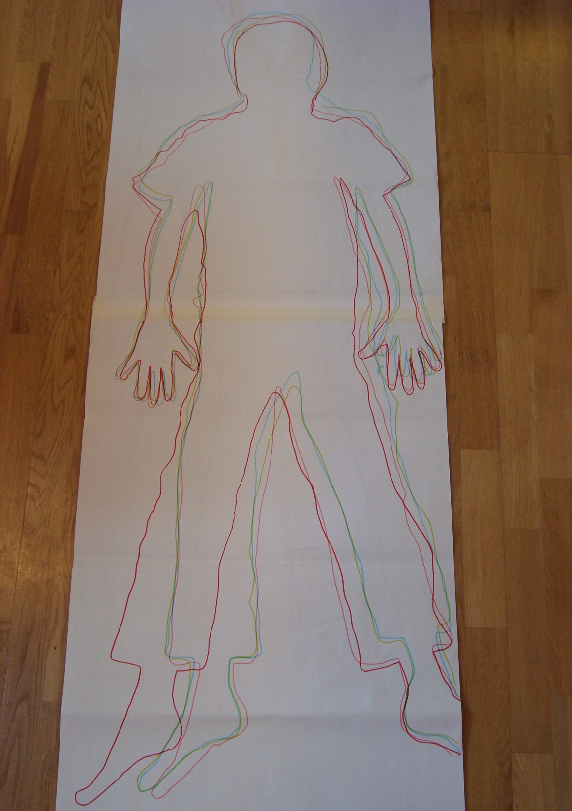 Using a body map to talk about emotional containment with a child