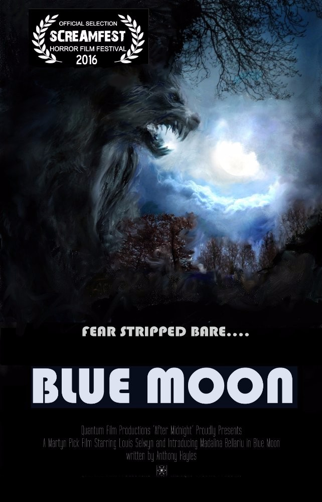 Profile poster for the Blue Moon film