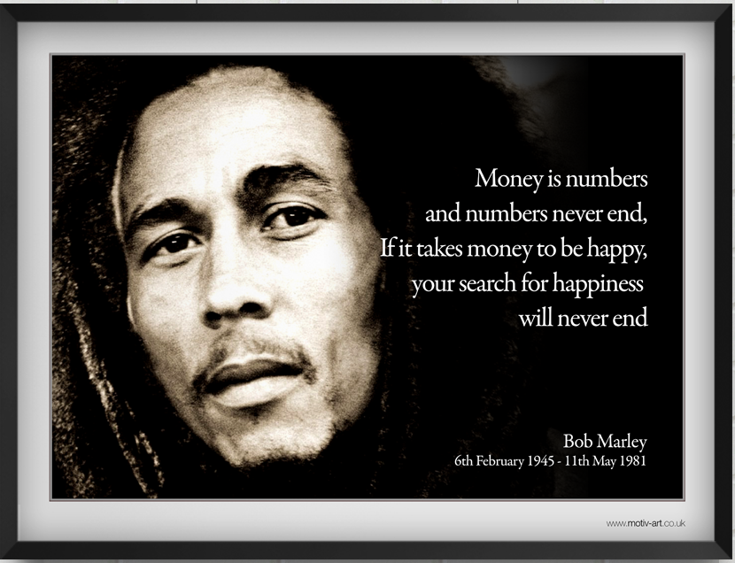 Money is...