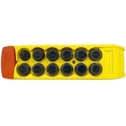 Upper part PS72 - Yellow (2800088)