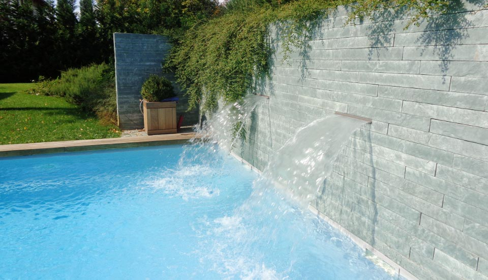 Piscina a sfioro piscina privata - Piscina g conti verona ...