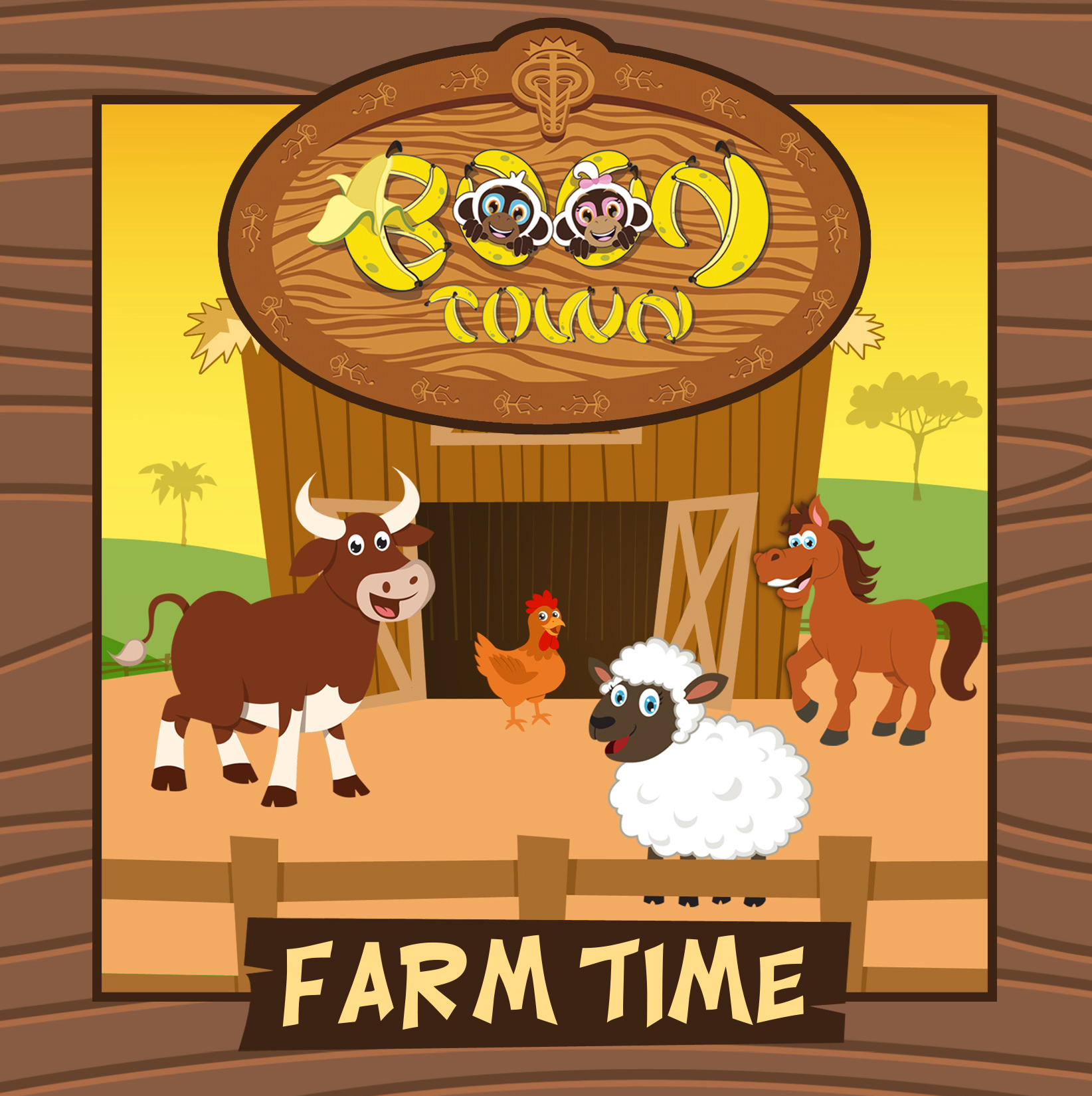 "Boon Town Series : Book 1 ""Farm Time"""