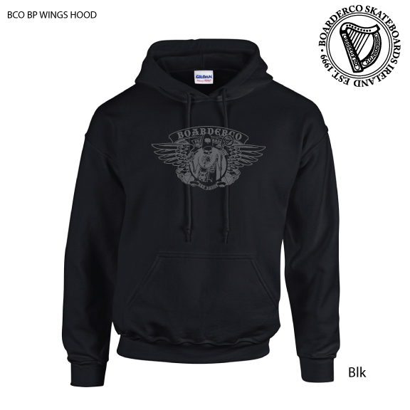 Bad Paddy wings hoodie