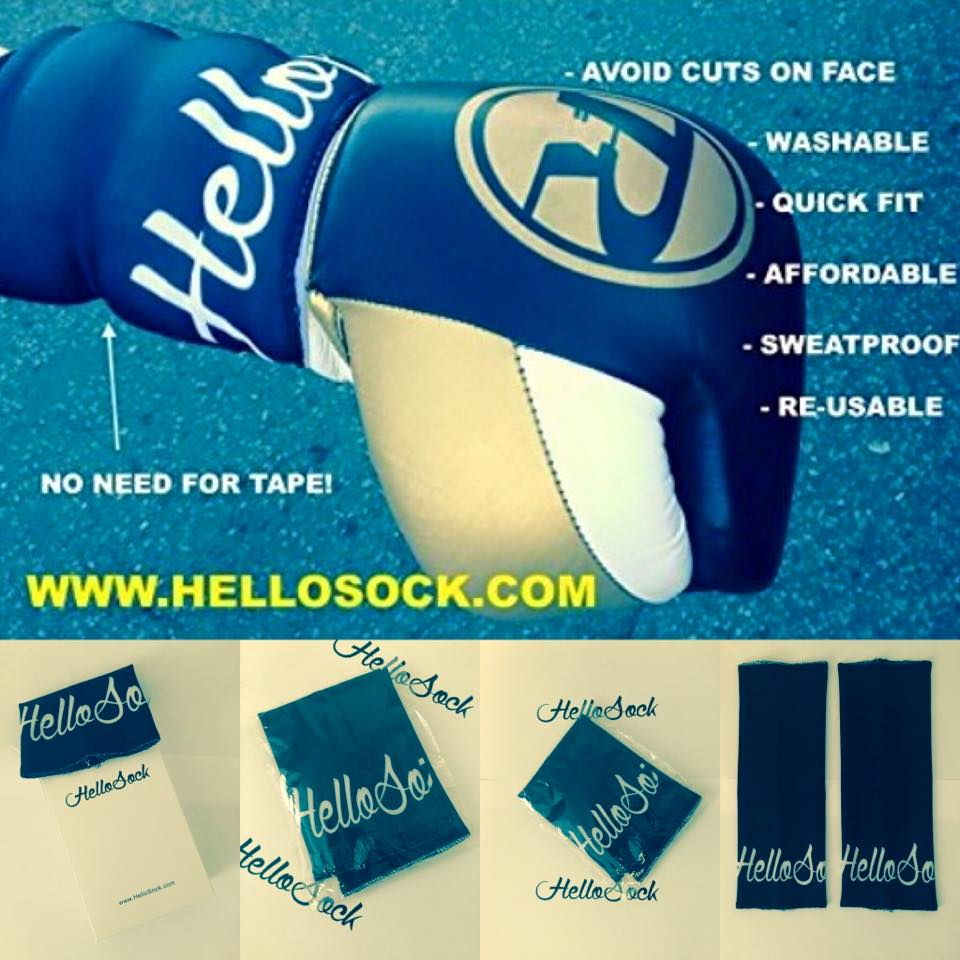 Boxing Gloves Sleeve for Laces/Velcro | Prevents Injury | Protect Gloves | Keep Laces New (Pair)