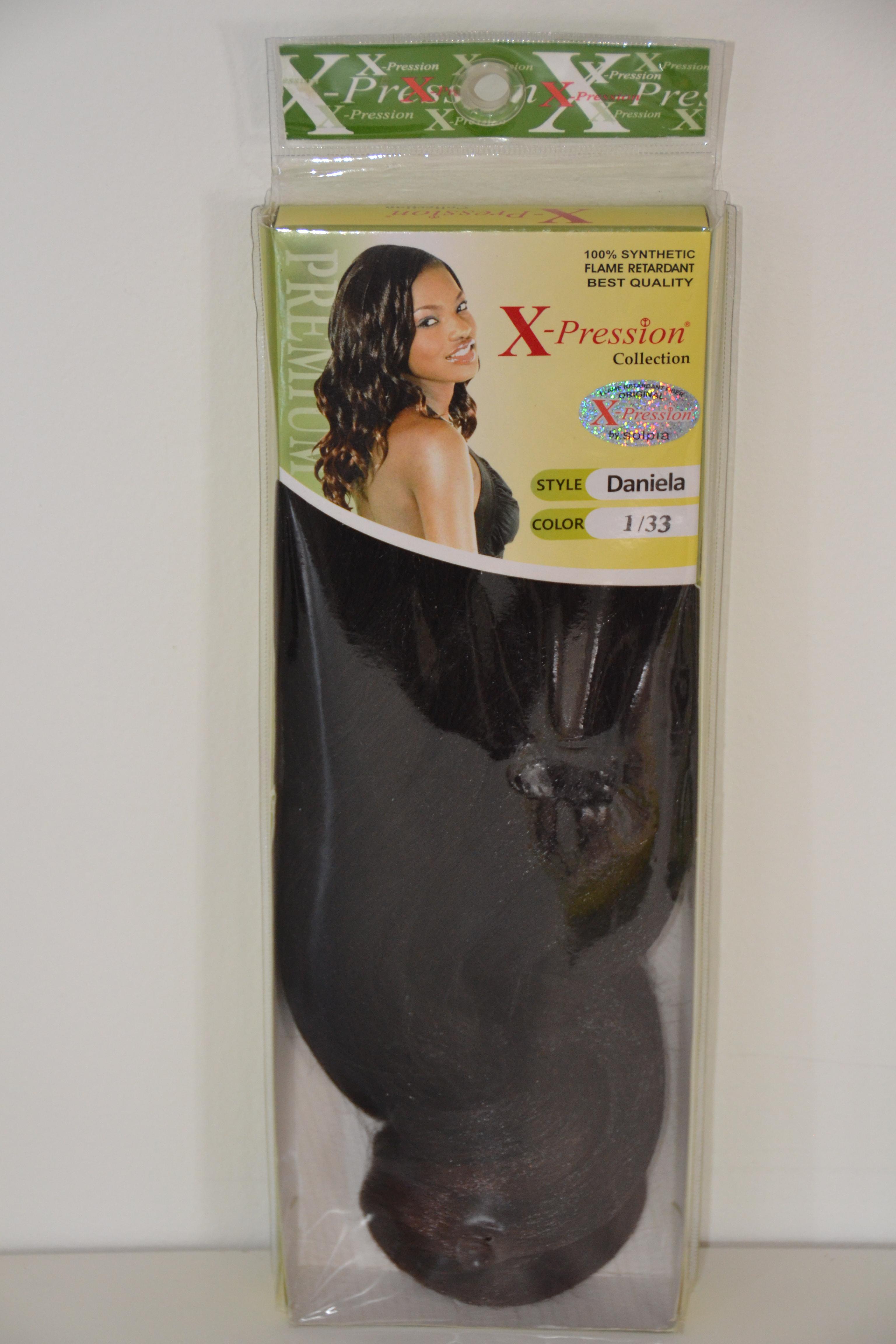 X Pression Collection Daniela Weave