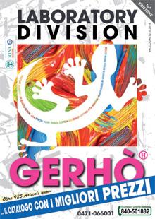Gerhò Catalogo LABORATORY DIVISION