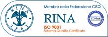 Gerhò - Certificato di Qualità RINA ISO 9011
