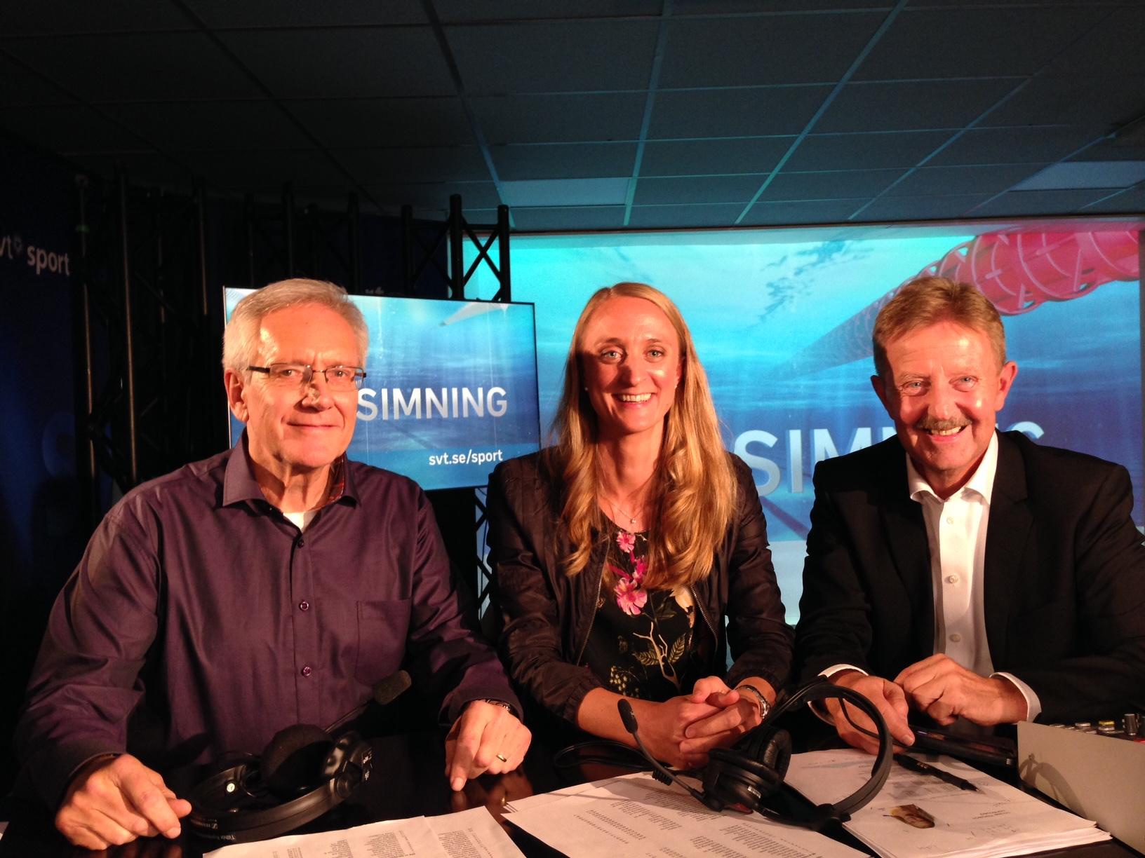 Johanna Sjöberg Expertkommentator TV