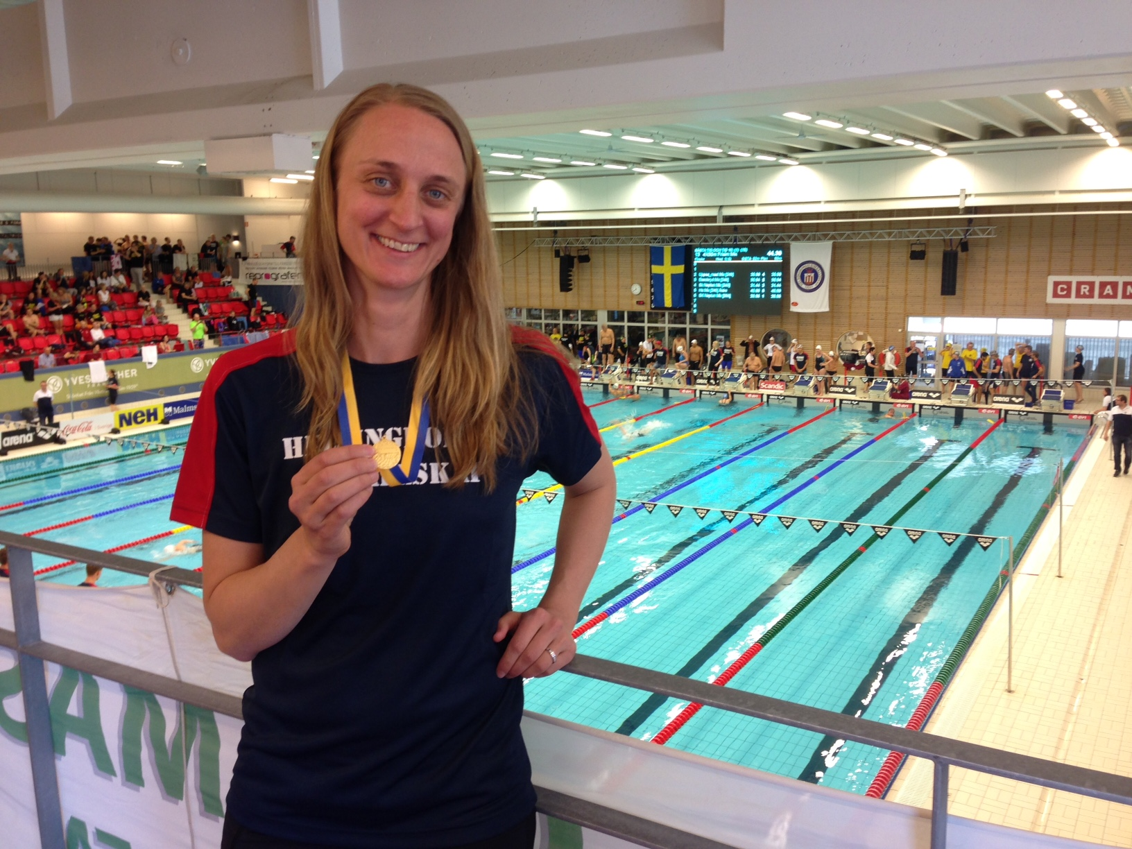 Johanna Sjöberg Masters-SM simning