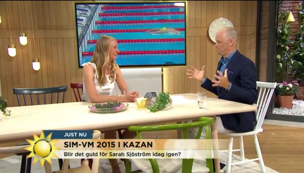 Johanna Sjöberg Nyhetsmorgon gäst