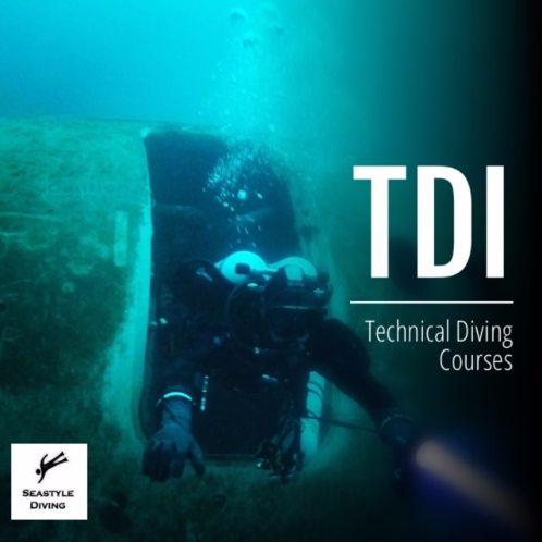 Technical Diving International (TDI) Diver Courses. From Nitrox to Trimix