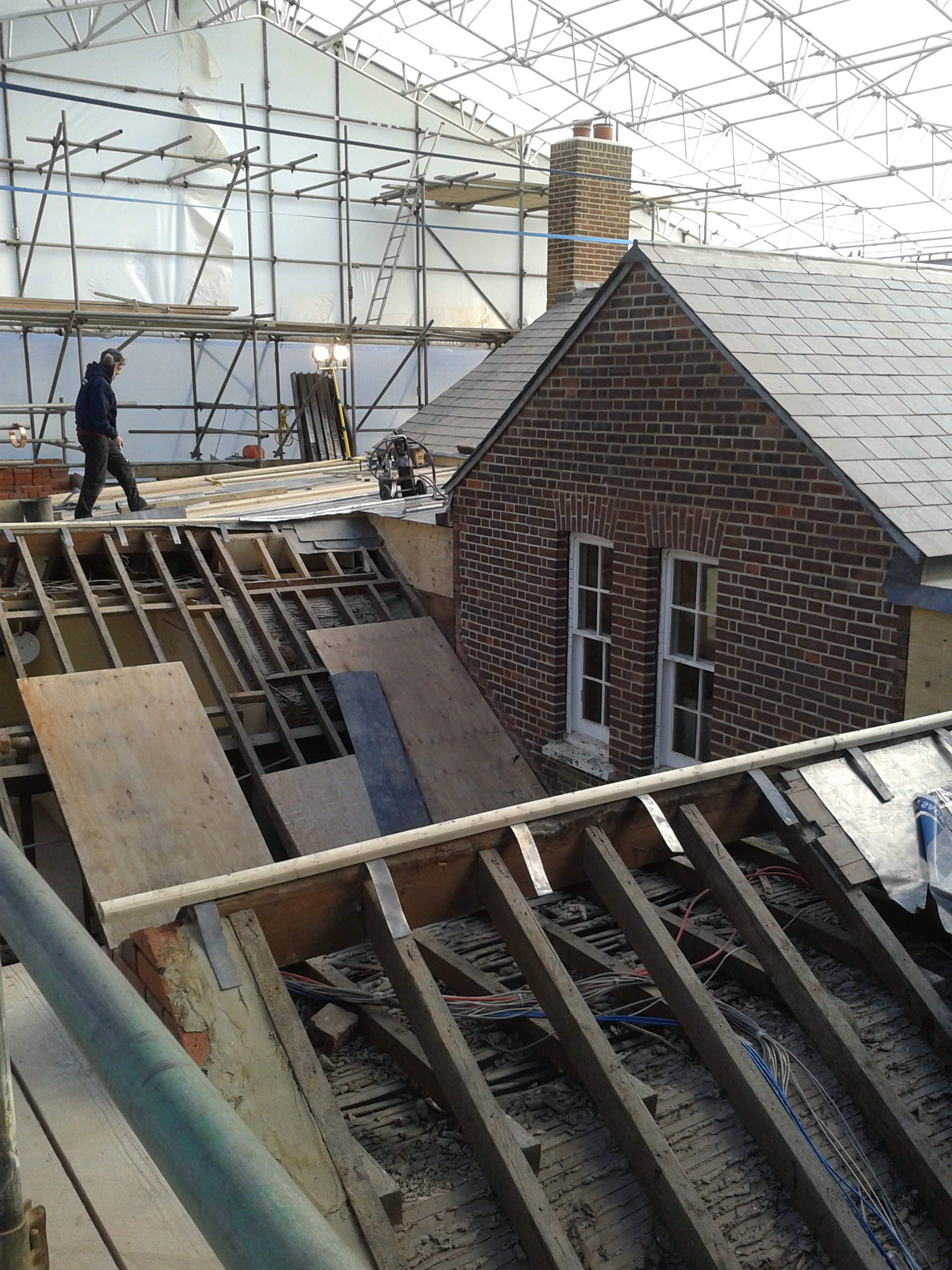 Engineering services to a refurbishment project