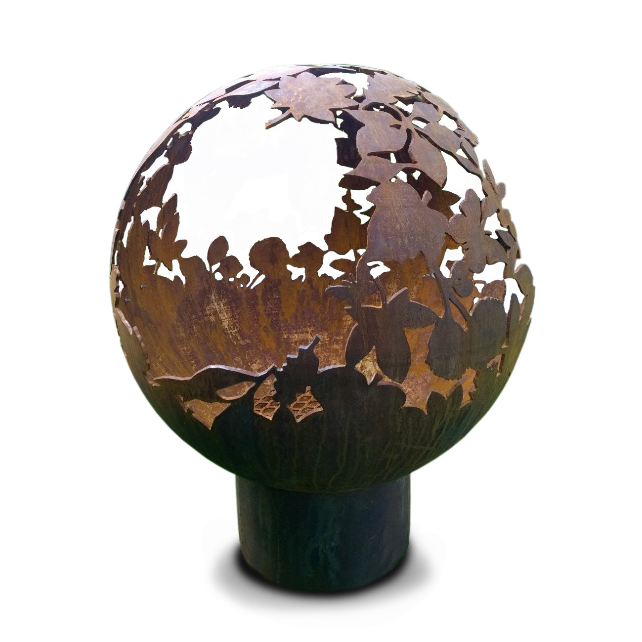 Fire Pits Uk Sale Part - 19: Our Bespoke Fire Spheres Are Made From Mild Steel Spun In The UK, Designed  By Ourselves And Hand Cut. Spheres Come With A Tubular Stand, Other Options  Are ...