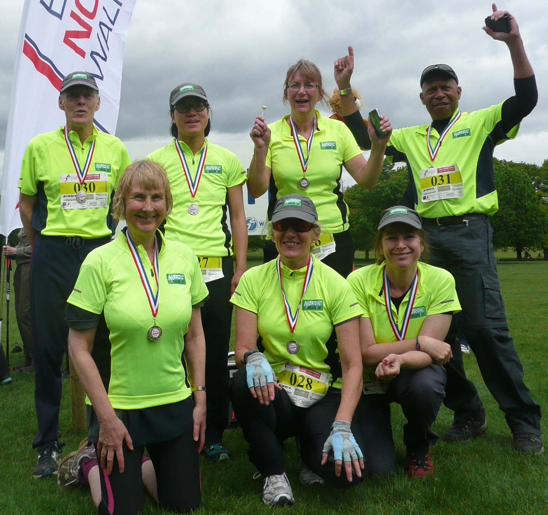10K Nordic Walking race winners