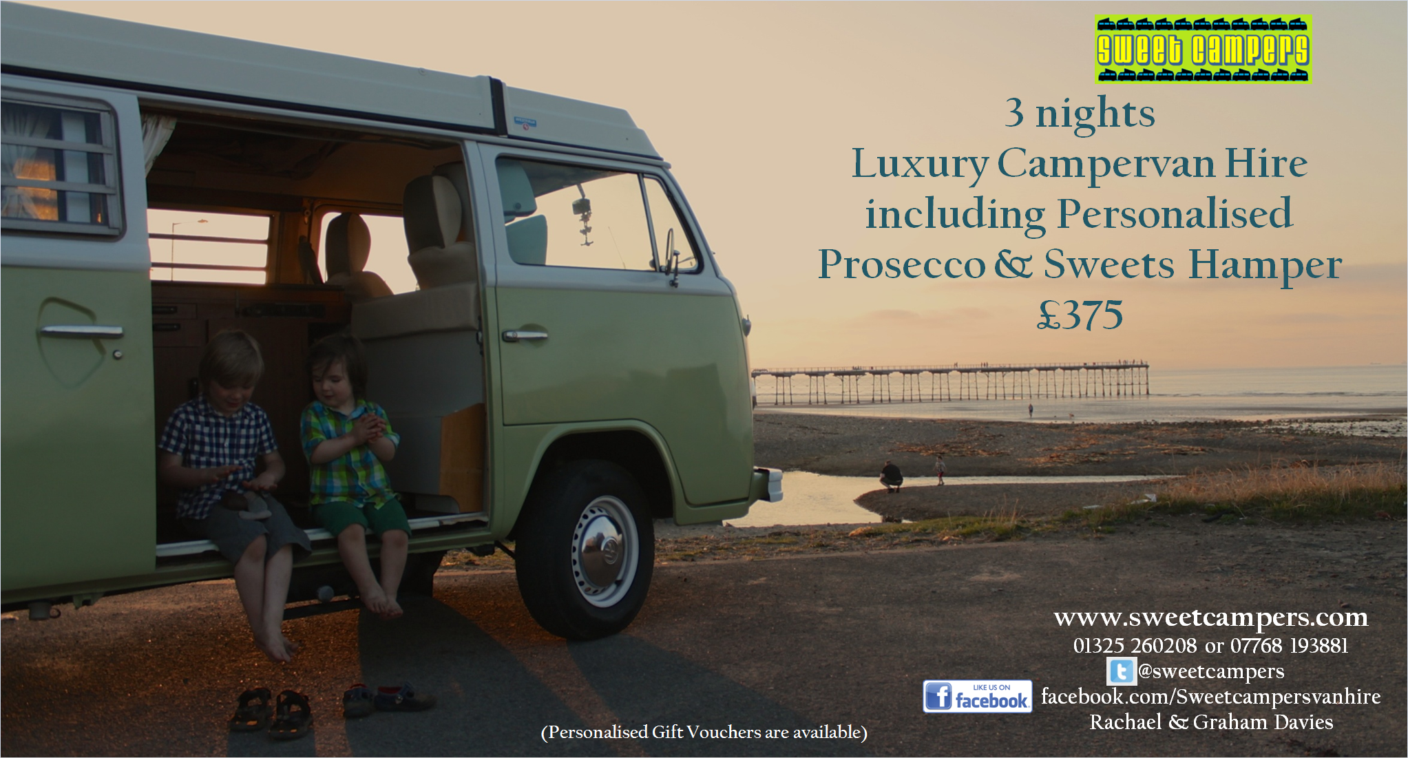 luxury vw camper hire