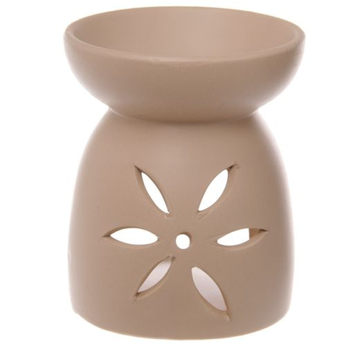 Large cream oil burner