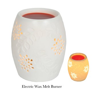 Electric wax melt burner