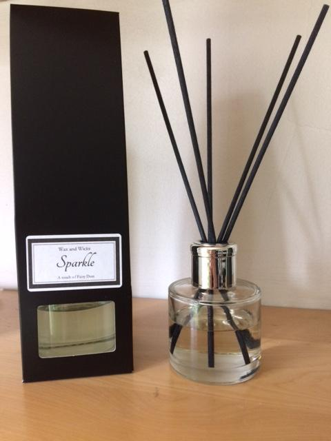 Sparkle luxury reed diffuser