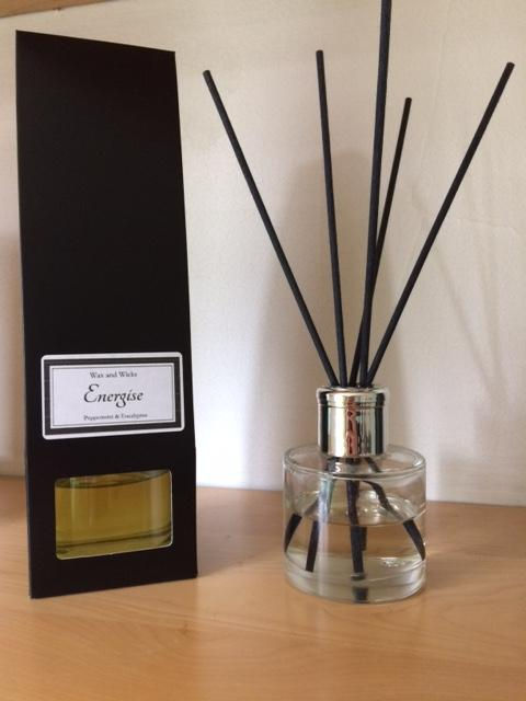 Energise luxury reed diffuser