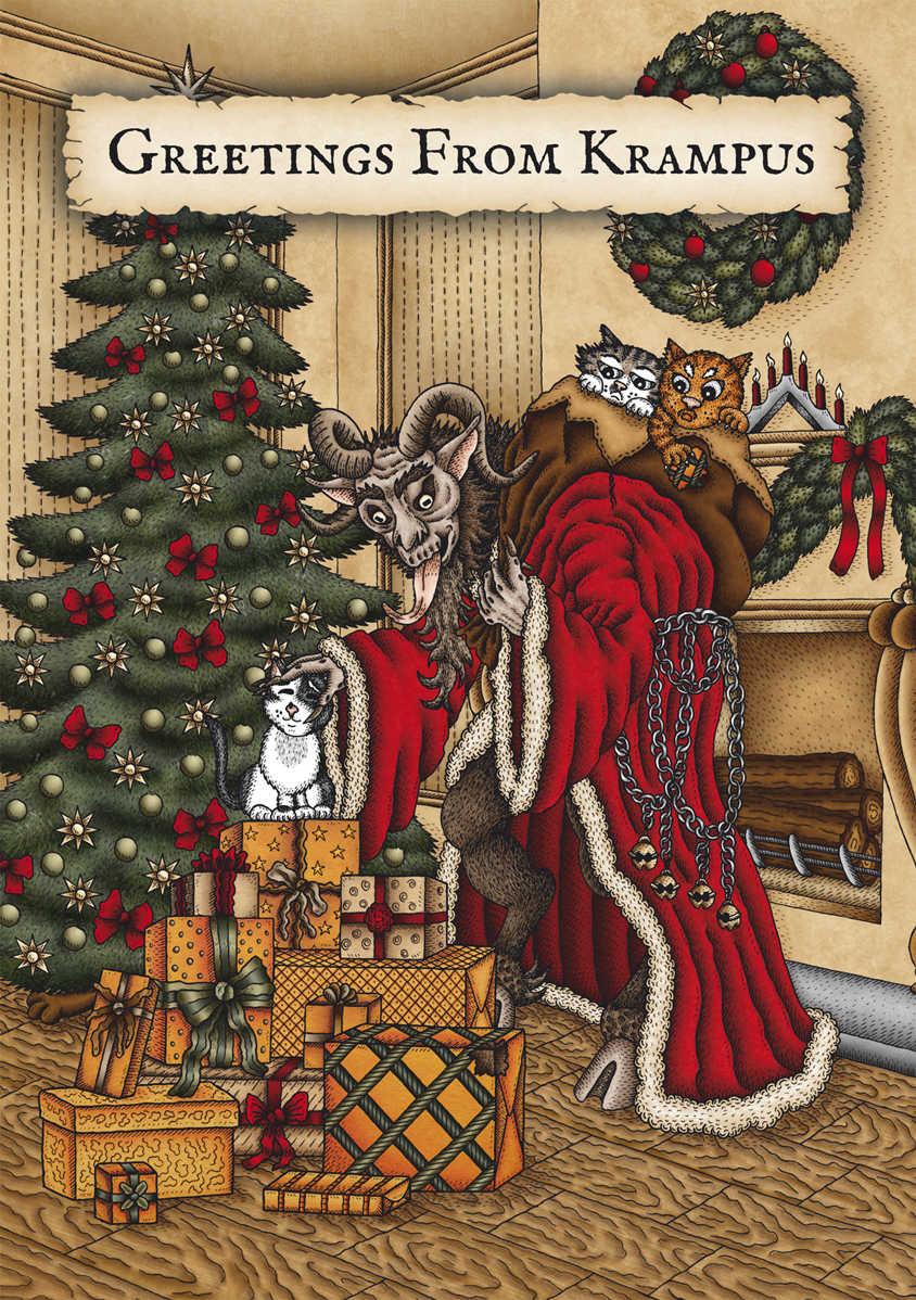 Creepy Christmas Cards
