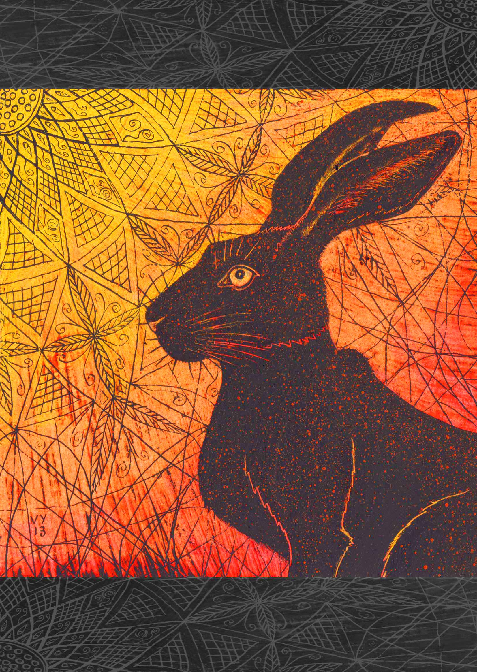 'Black Hare' card