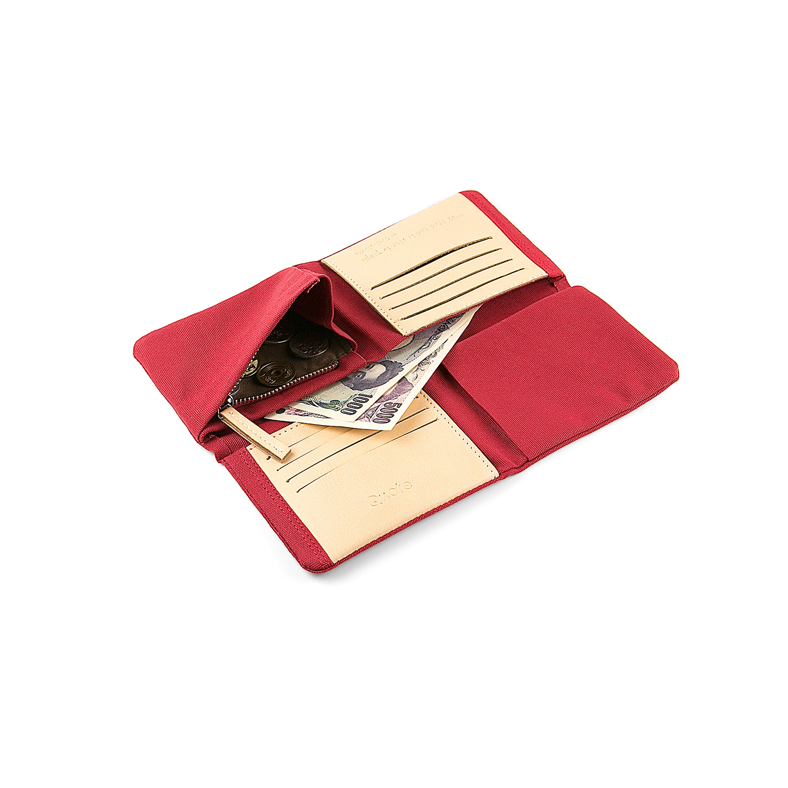 Fold² Wallet Red || 財布 レッド