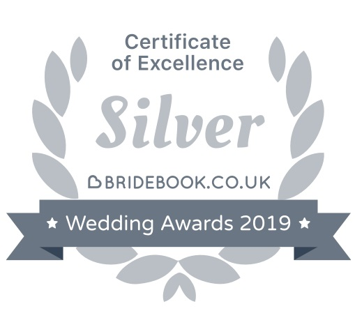 Bridebook DJ Silver Certificate Of Excellence 2019