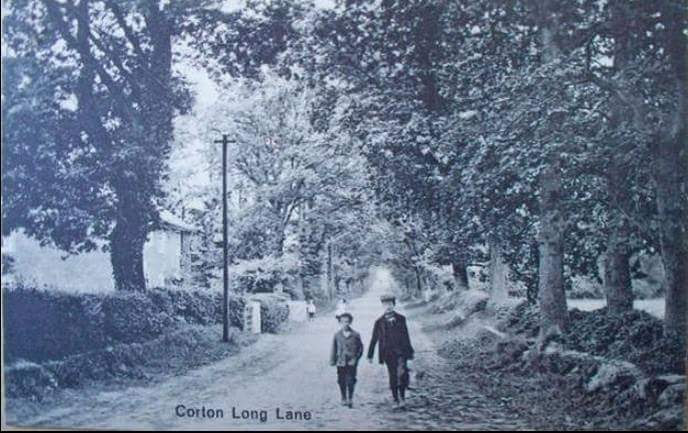Corton Long Lane (west end)