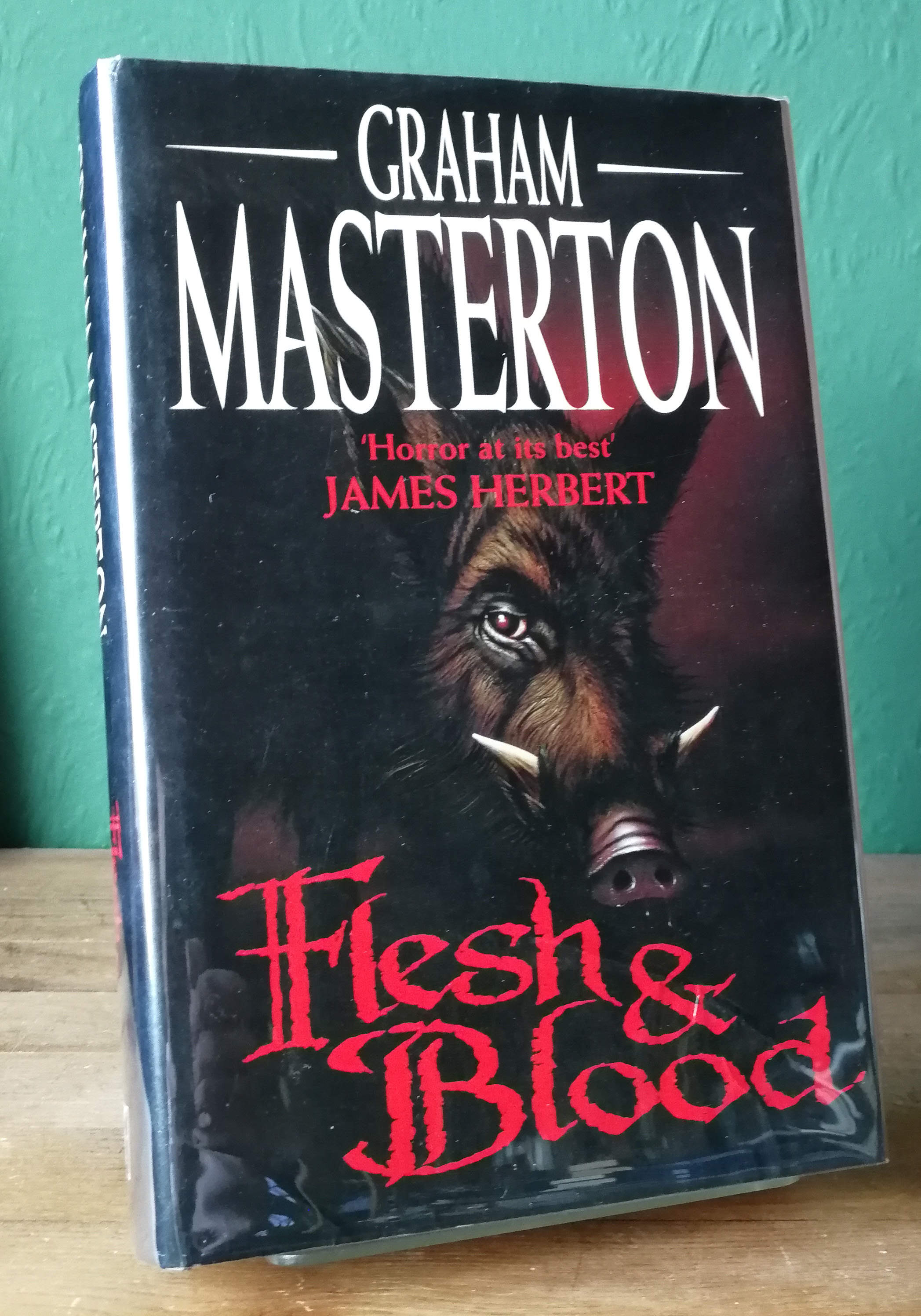 Flesh And Blood UK First Edition